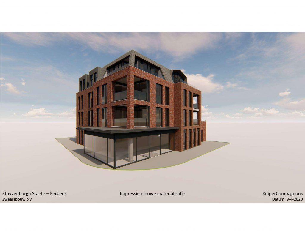 nieuwe appartementencomplex in het centrum van Eerbeek