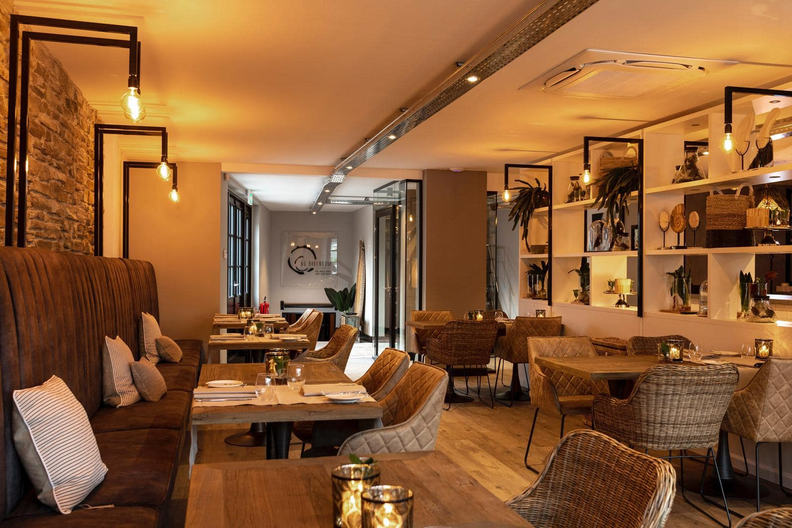 restaurant moderne uitstraling