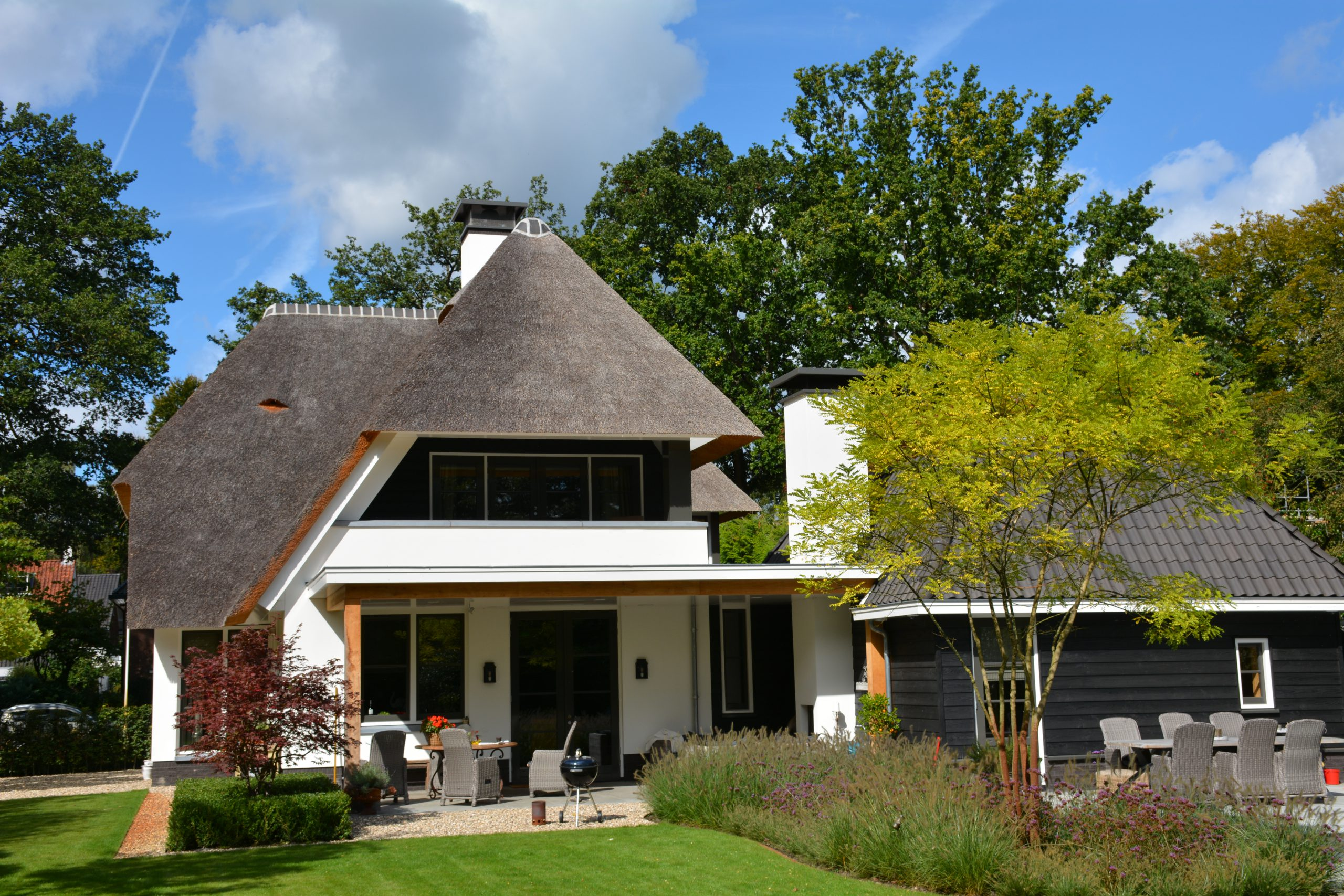 Villa woningbouw tuin